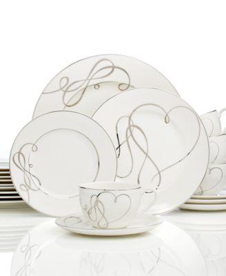 Love Story 40-Pc. Dinnerware Set, Service for 8