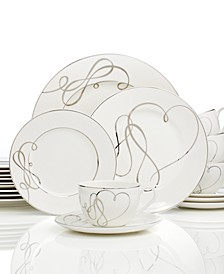 Love Story 40-Pc. Dinnerware Set, Service for 8
