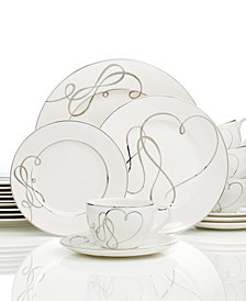 Mikasa Love Story 40-Pc. Dinnerware Set, Service for 8