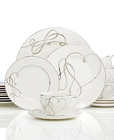 Mikasa Love Story 40-Pc. Dinnerware Set, Service for 8