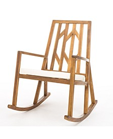 Tayla Outdoor Rocking Chair with Cushion