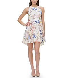 Wild Heart Floral Fit & Flare Dress