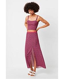 Verona Crepe Raspberry Sorbet Skirt