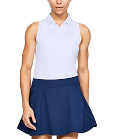 Women's UA Zinger Sleeveless Golf Polo