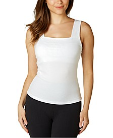 Juniors' Wide-Strap Tank Top