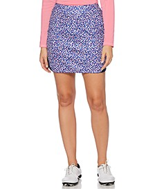 Kaleidoscope Printed Golf Skort