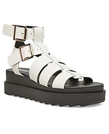 Zeeta Treaded Flatform Sandals