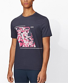 BOSS Men's Tee 3 Navy T-Shirt