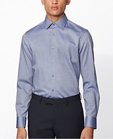 BOSS Men's Jango Navy Shirt