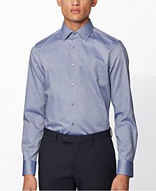 BOSS Men's Jango Navy Shirt