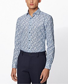 BOSS Men's Joy Dark Blue Shirt