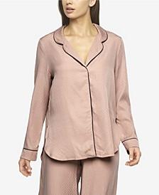 Women's Izar Jacquard Pajama shirt