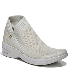 Romance Washable Knit Ankle Boots
