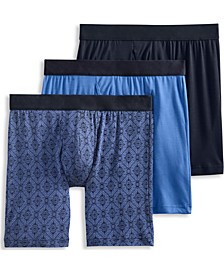 Men's Flex 365 Modal Stretch Boxer Brief 3 pack, Created for Macy's