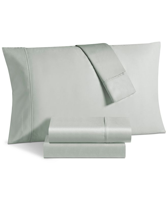 Fairfield Square Collection Aspen 1000 Thread Count Sateen 6-Pc. Solid Queen Sheet Set