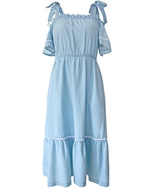 Cotton Chambray Dress