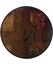 Kismet KIS011 Brown 6' Round Rug