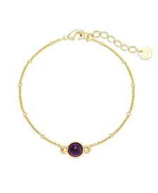 Nola Gemstone Bracelet - Amethyst
