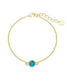 Nola Gemstone Bracelet - Turquoise