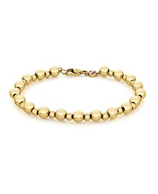 Women's Gold-Tone Bead Chain Bracelet