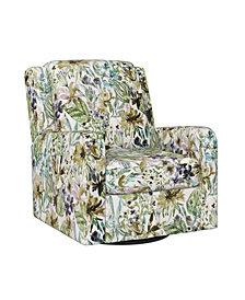 Handy Living Gordon Swivel Arm Chair