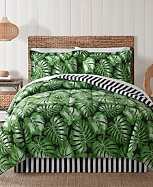 Fairfield Square Bermuda Palm 8Pc Comforter Set