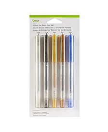 Glitter Gel Basics Pen Set