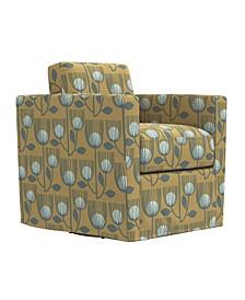 Grahm Swivel Club Chair