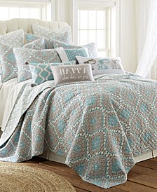 Gramercy Geometric Reversible Full/Queen Quilt Set