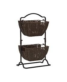 Brinley 2 Tier Hanging Baskets