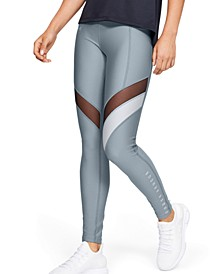 HeatGear® Colorblocked Compression Leggings