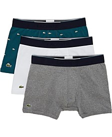 Men's 3-Pk. Essential Cotton Trunks