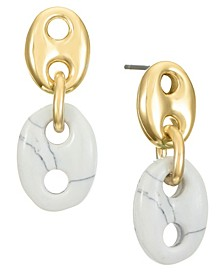 14K Gold-Plated Drop Earring