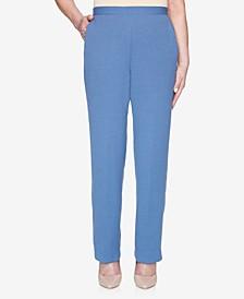 Petite Palo Alto Pull-On Crinkle Pants