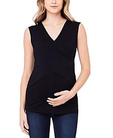 Maternity V-Neck Nursing Top