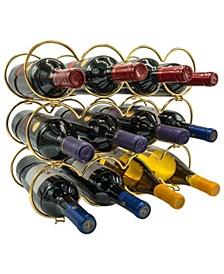3 Tier Metal Detachable Round Wine Rack