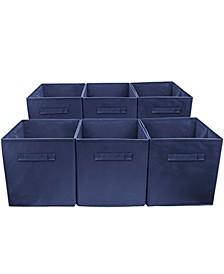 Foldable Storage Cube Basket Bin, Set of 6