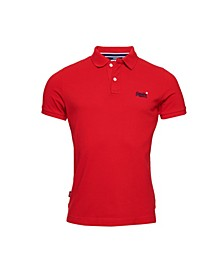 Men's Classic Pique Short Sleeve Polo Shirt