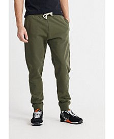 Men's Organic Cotton Standard Label Loopback Joggers