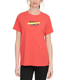 DKNY Sport Cotton Logo T-Shirt