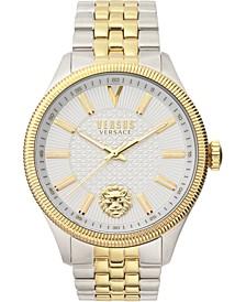 Men's Colonne Two-Tone Stainless Steel Bracelet Watch 45mm