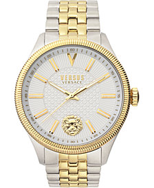 Versus by Versace Men's Colonne Two-Tone Stainless Steel Bracelet Watch 45mm