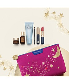 Receive a FREE 7-pc Gift with any $39.50 Estée Lauder purchase. A $154 Value!