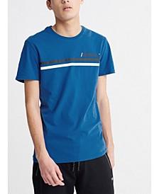 Men's Core Logo Sport Stripe T-shirt