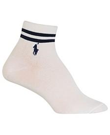 Women's Double Bar Stripe Crew Socks