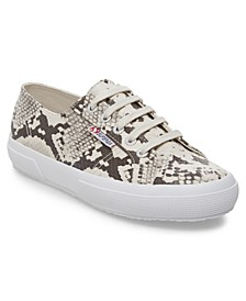 Women's 2750 Synth Snake Lace-Up Sneakers