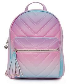 Big Girls Ombre Chevron Mini Backpack