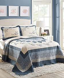 Charlotte Bedspread and Sham Collection