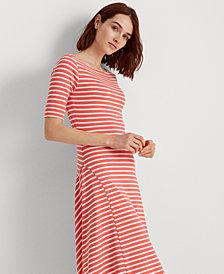 Lauren Ralph Lauren Fit & Flare Dress
