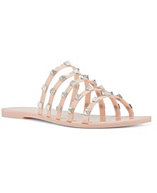 Women's Charli Flat Slide Jelly Sandals